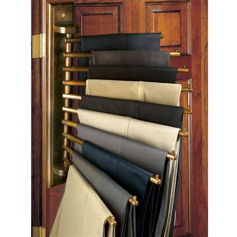 Pant Rack For Closet by The Genuine Mahogany Closet Organizing Rack