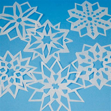 Paper Snowflakes Easy - how to make paper snowflakes gameonlineflash