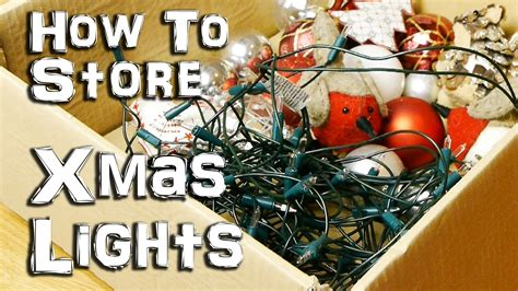 how to store christmas lights how to store your christmas lights life hack youtube