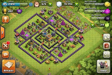 best th8 base http forum supercell net showthread php 228481 the moat
