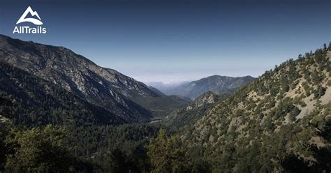 trails  angeles national forest california