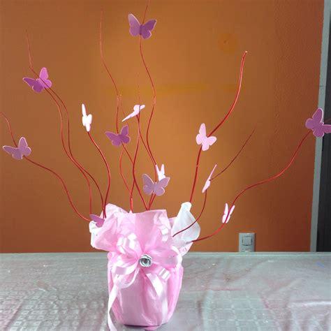 adorno de quince en mariposa centro de mesa con mariposas para xv a 241 os centerpiece with