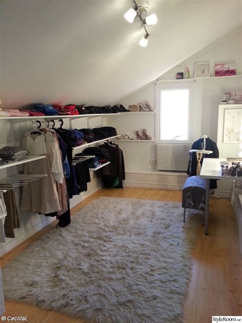 attic wardrobes ikea another clever low height closet algot from ikea