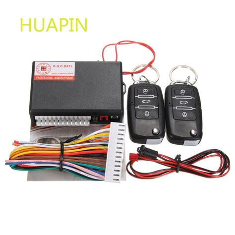 Alarm Central Lock aliexpress buy universal remote central locking kit