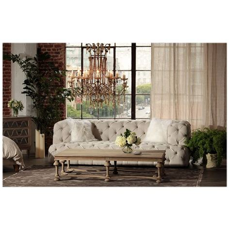nottingham tufted sofa 2852 00 thebellacottage whitedove shabbychic shabby cottage chic