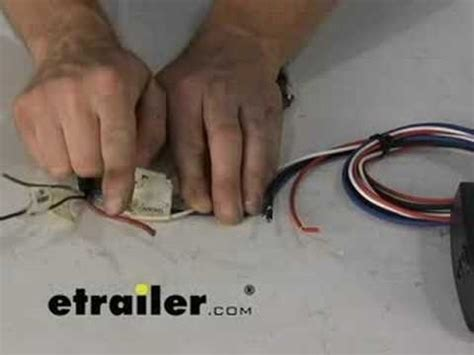 trailer brake controller wiring what are the wire colors