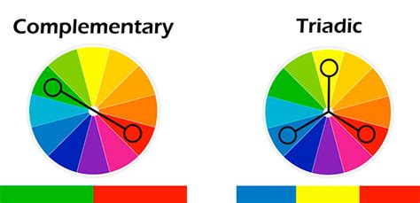 triadic color which is the best call to button color according