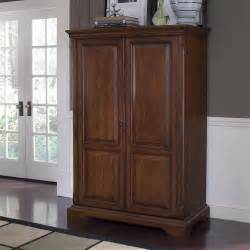 riverside home office computer armoire 4985 hickory