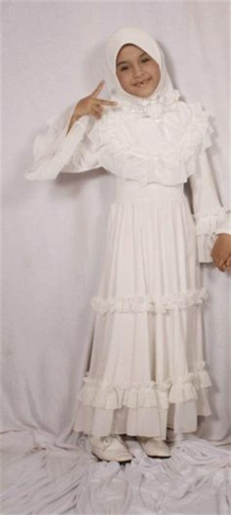 Baju Muslim Anak Perempuan Putih Polos Model Baju Muslim Anak Perempuan Warna Putih Polos Dan