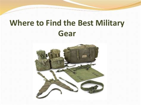 How To Find In The Army Where To Find The Best Gear