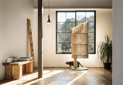 japanese designer creates stylish cat furniture