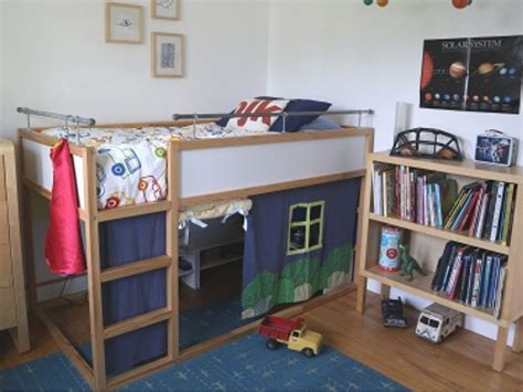 ikea kids loft bed 18 awesome ikea bunk bed hacks your kids will love