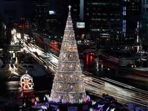 seoul south korea christmas trees ornaments pinterest
