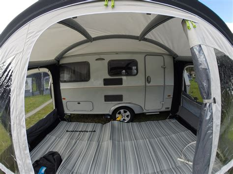 caravan with awning ka pop air pro 365 eriba caravan awning 2018 caravan