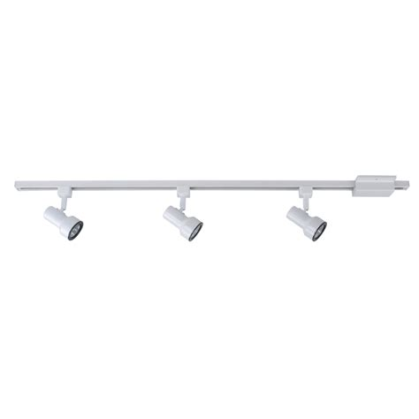 Track Lighting Lowes by Shop Project Source 3 Light White Step Linear Track