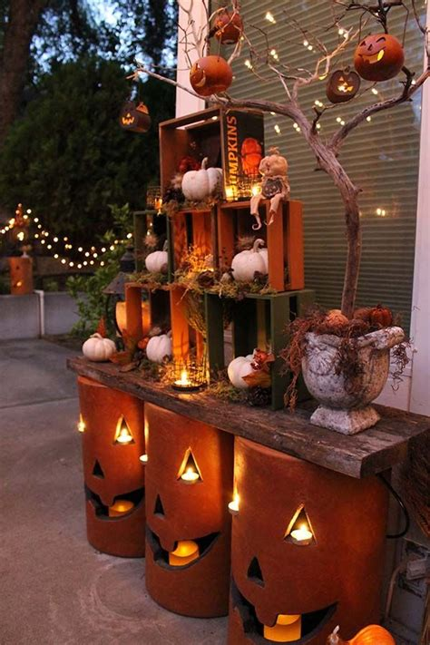 fall decorations holiday decorations the home depot 1000 halloween decorating ideas on pinterest halloween
