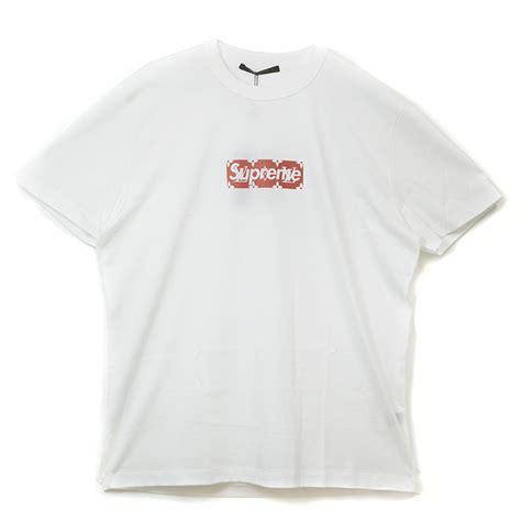 Kaos Tshirt Supreme X Lv Box Gold 無題ドキュメント