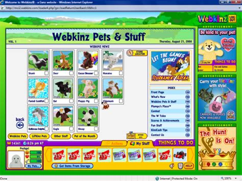 new webkinz in webkinz world 40mumble s weblog
