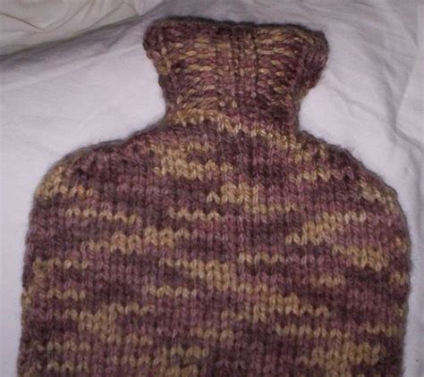 knitting pattern hot water bottle cover 1000 images about free knitted hot water bottle cover