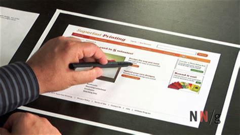 Paper Courses - paper prototyping nielsen norman