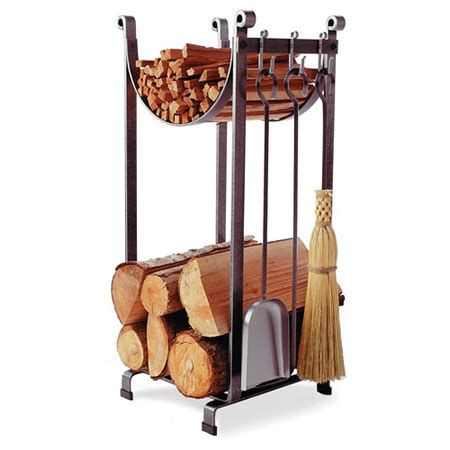 fireplace wood racks sling indoor firewood rack with tools woodlanddirect