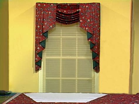 how to make swag curtains swags and jabots diy crafts