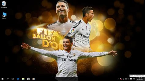free download themes for windows 7 real madrid real madrid fc 2015 theme for windows 7 8 and 10 save