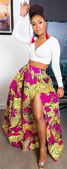 Vazza Dress by The Kola Skirt Print Maxi Skirt 2 Side Pockets