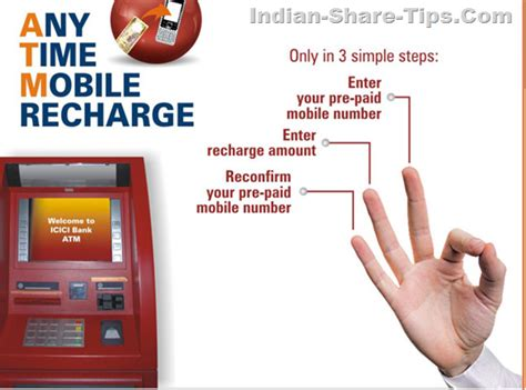 icici bank mobile number recharge mobile with icici bank atm machine indian stock
