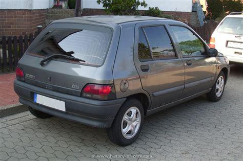 renault car 1990 renault 1990 clio 12 4door hatchback the history of cars