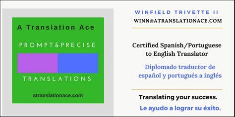 certified spanish  english translations  orlando