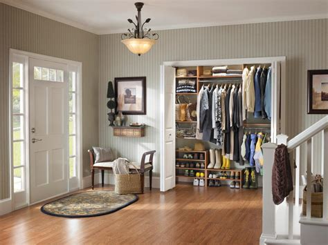 Entryway Closet Ideas by Living Room Entryway Closets Hgtv