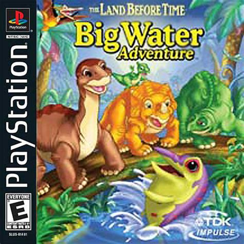 swing ps1 land before time big water adventure cover