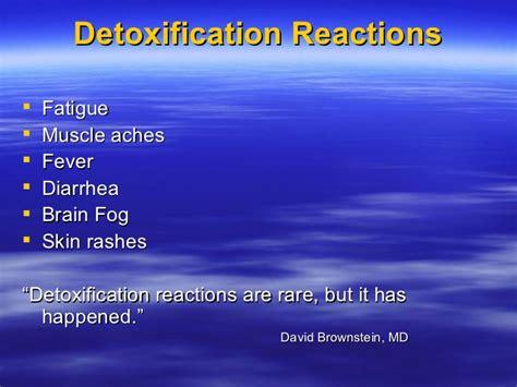 Iodine Detox Symptoms Diarrhea by Iodine