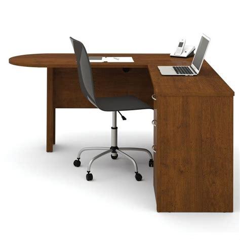 nice l computer desk on bestar embassy l shape computer bestar embassy l desk in tuscany brown finish 60880 63