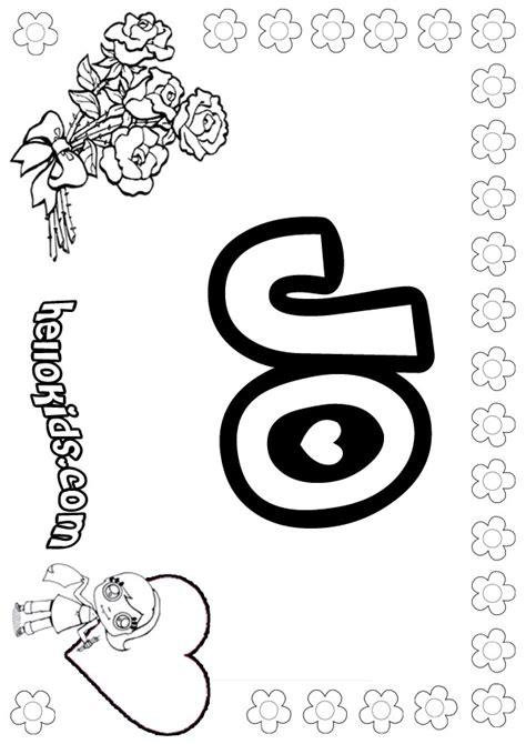 Jo coloring pages   Hellokids.com