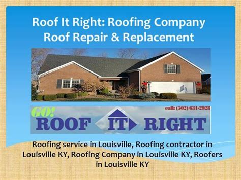 powerpoint themes roof roof it right roof repair and roof replacement authorstream