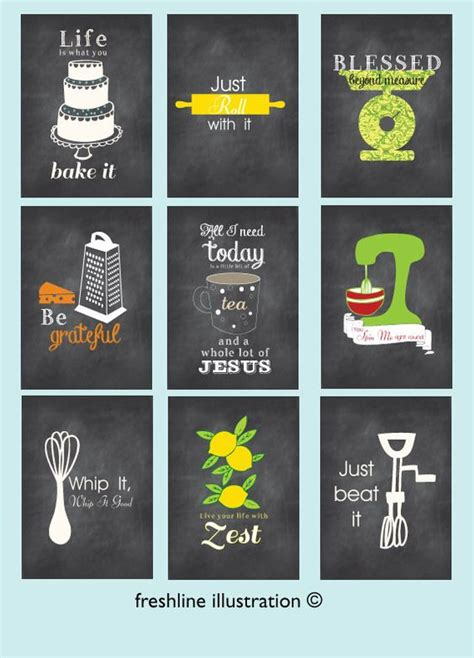 free printable kitchen poster kitchen posters style and canvas poster on pinterest