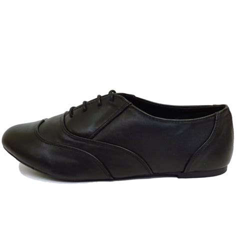 wide oxford shoes flat wide fit black oxford brogue lace up pumps
