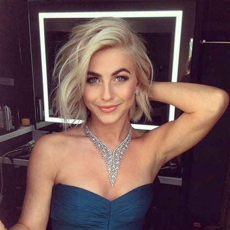 does julianne hough have thick hair 29 of julianne hough s best short hair looks instyle com