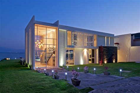 modern waterfront home on lake chapala idesignarch