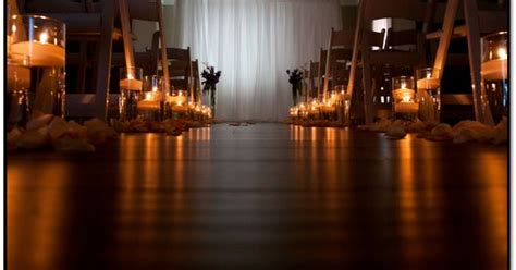 Candle Lighting Times In Las Vegas by Floating Candles White Padded Floding Chairs White