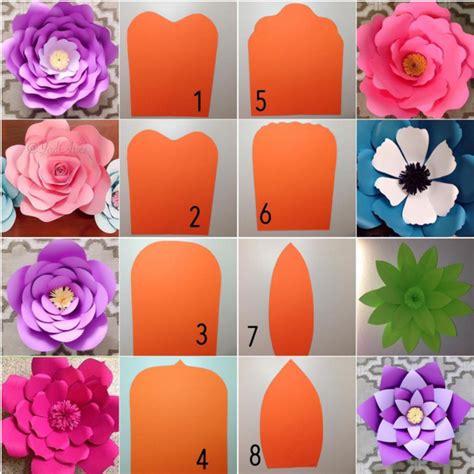 imagenes de flores grandes de papel 101 fiestas lindas decoraciones con paneles de flores de