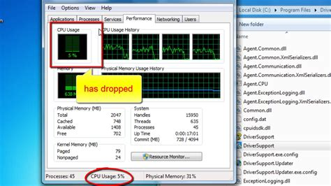 how to lower cpu usage reduce cpu usage on windows 7