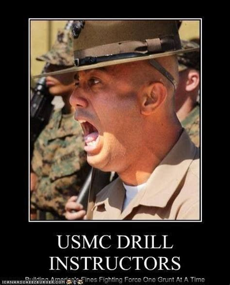 Drill Sergeant Meme - marine corps drill instructor quotes quotes