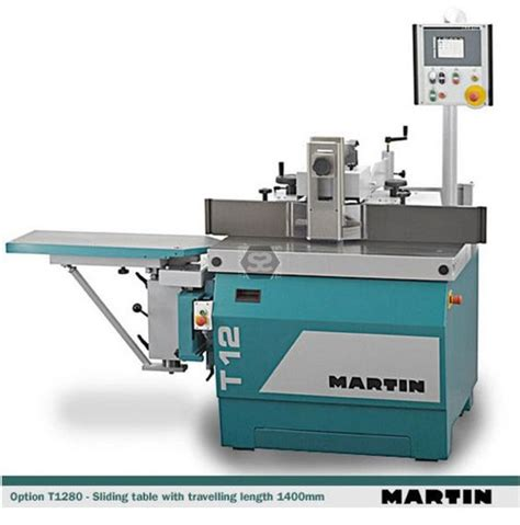 martin woodworking machinery martin t12 spindle moulder at sargeant woodworking