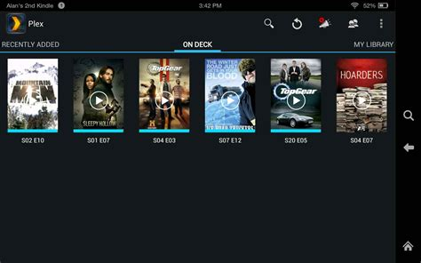 plex for android image gallery plex android