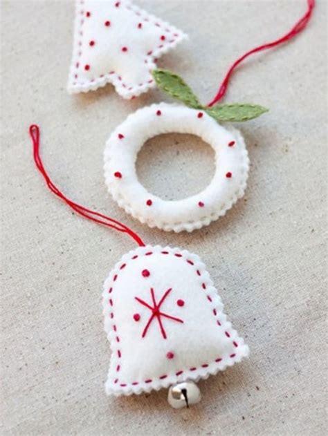 felt ornaments 56 original felt ornaments for your tree digsdigs