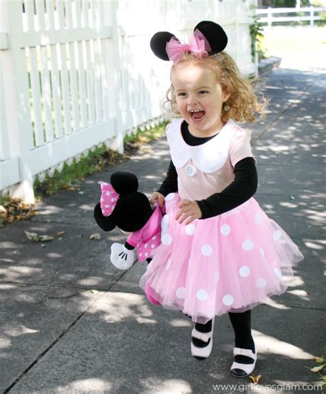 Handmade Minnie Mouse Costume - diy no sew minnie mouse costume glam