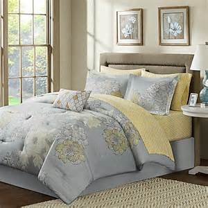 buy madison park avalon 9 piece full comforter set in grey